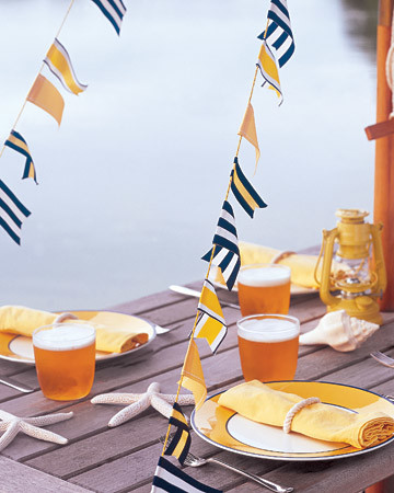 beach party ideas | martha stewart