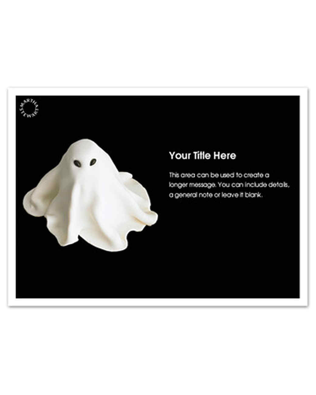 Online Invitations for Your Halloween Party | Martha Stewart