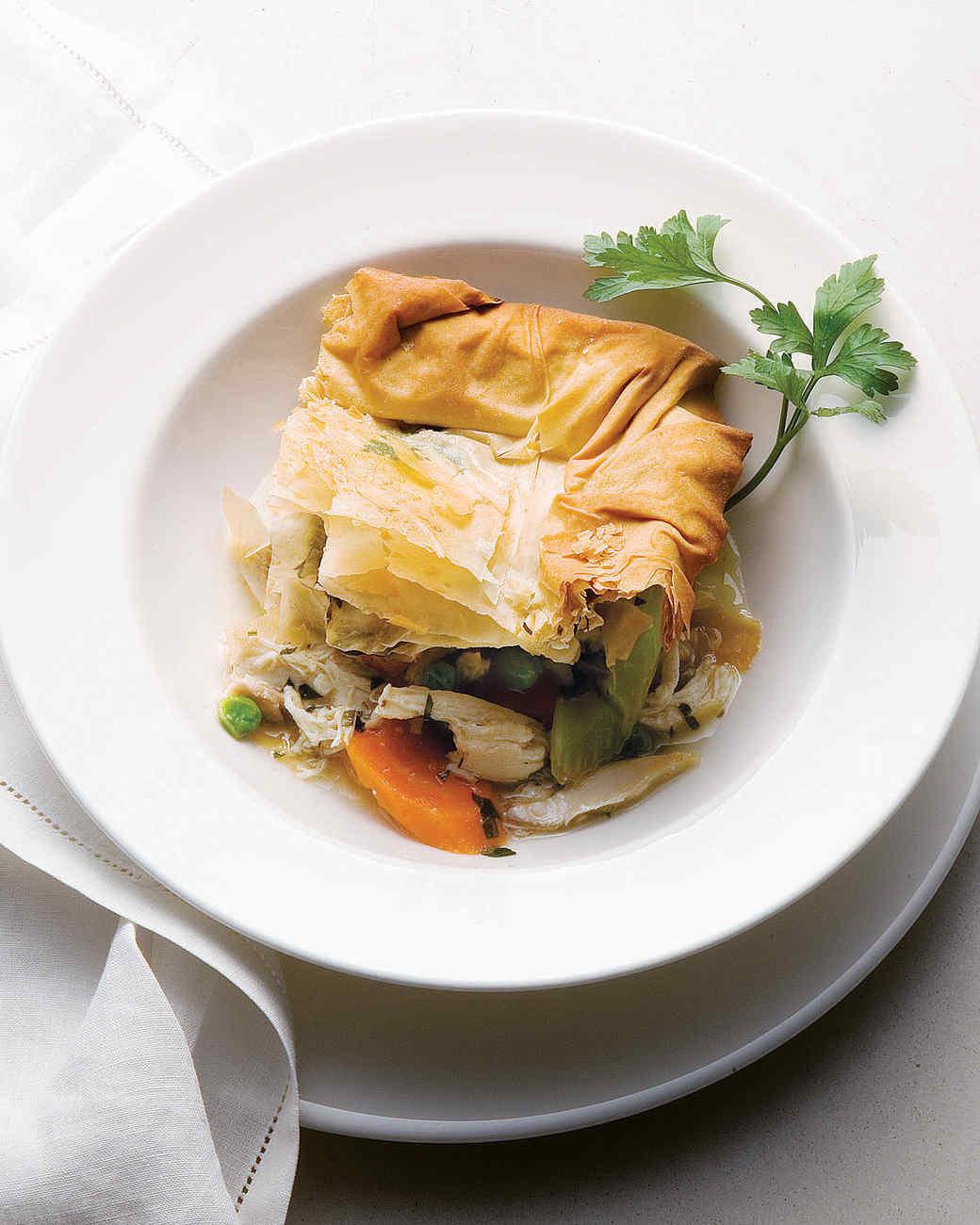 Light chicken pot pie recipes