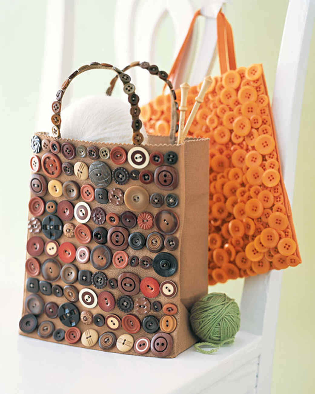 Button Bag Martha Stewart
