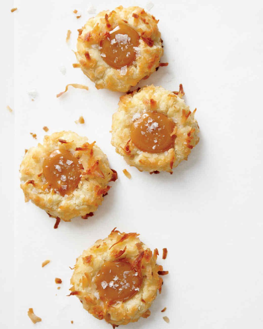 Caramel thumbprint cookie recipe