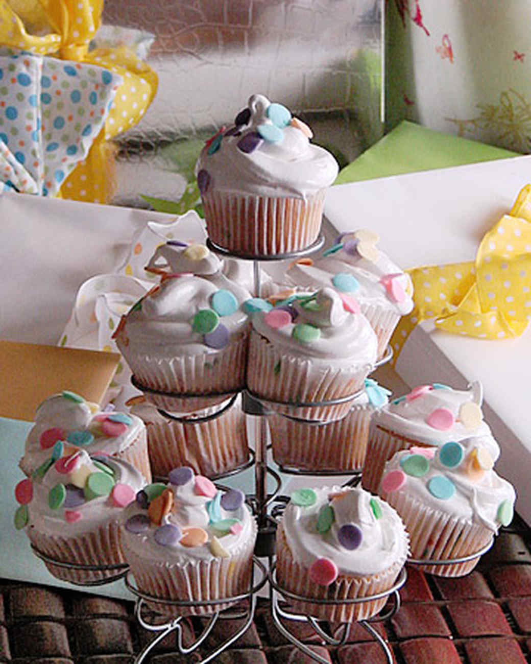 Decorating Baby Shower Cupcakes your best cupcakes for baby showers | martha stewart