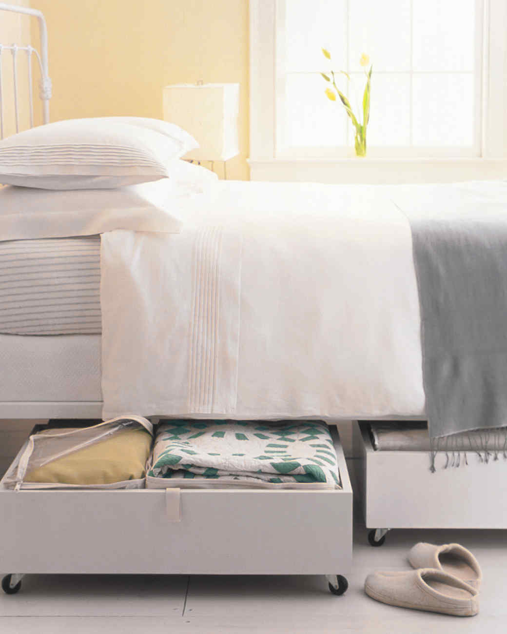 Organize Bedroom bedroom organization tricks | martha stewart