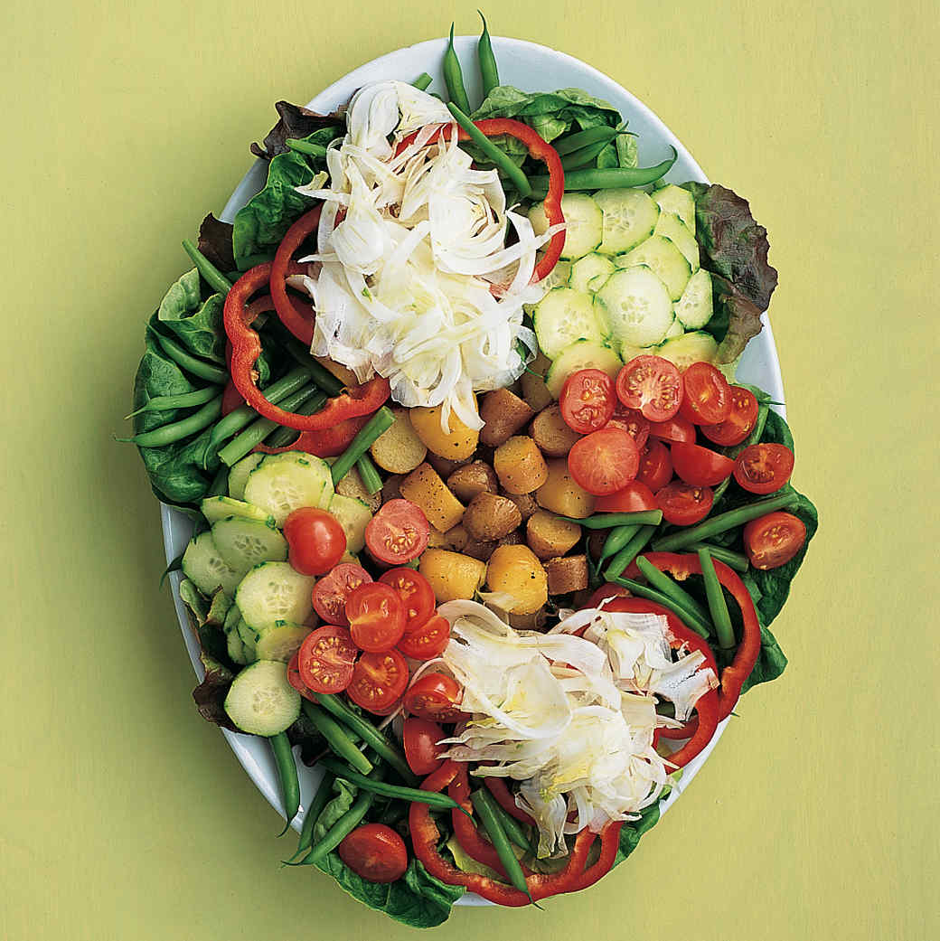 Light and Easy Nicoise Salad