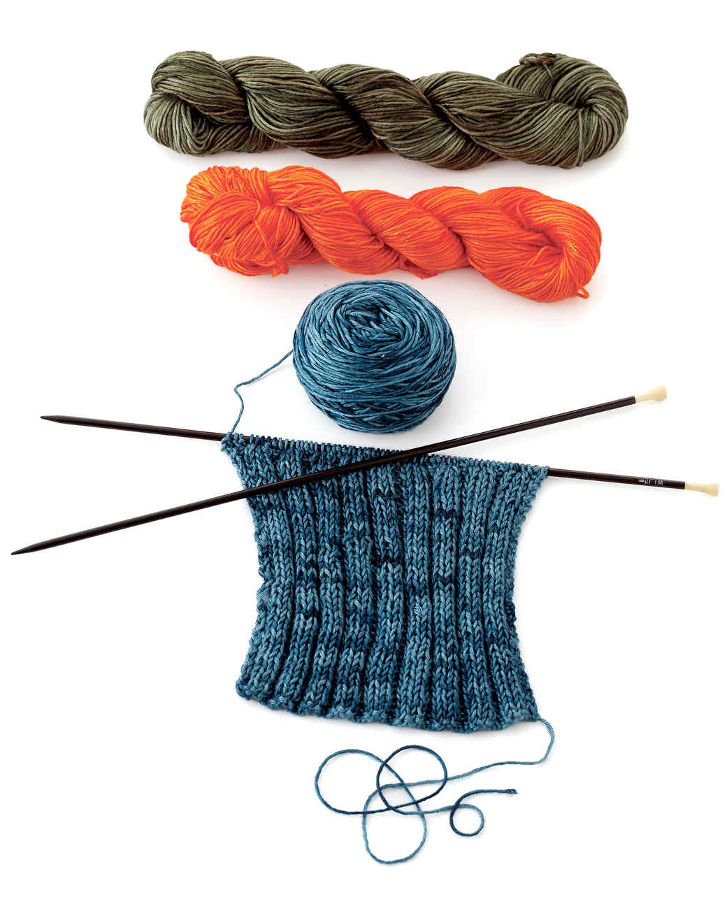 Knitting Materials For Beginners : Knitting tools and materials martha stewart
