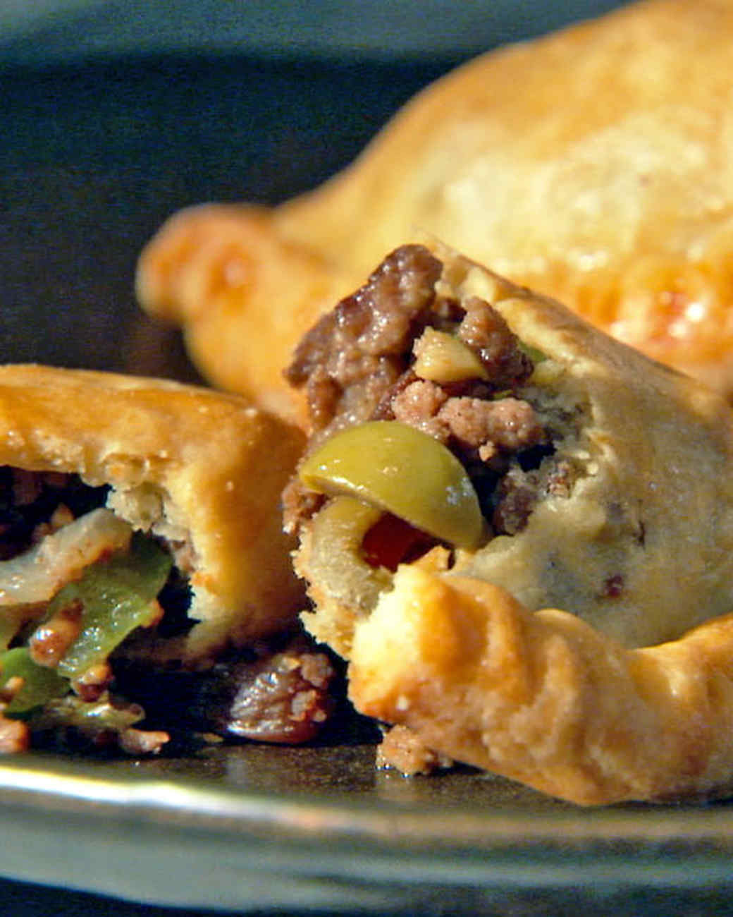 Beef Empanadas Recipe  Video Martha Stewart