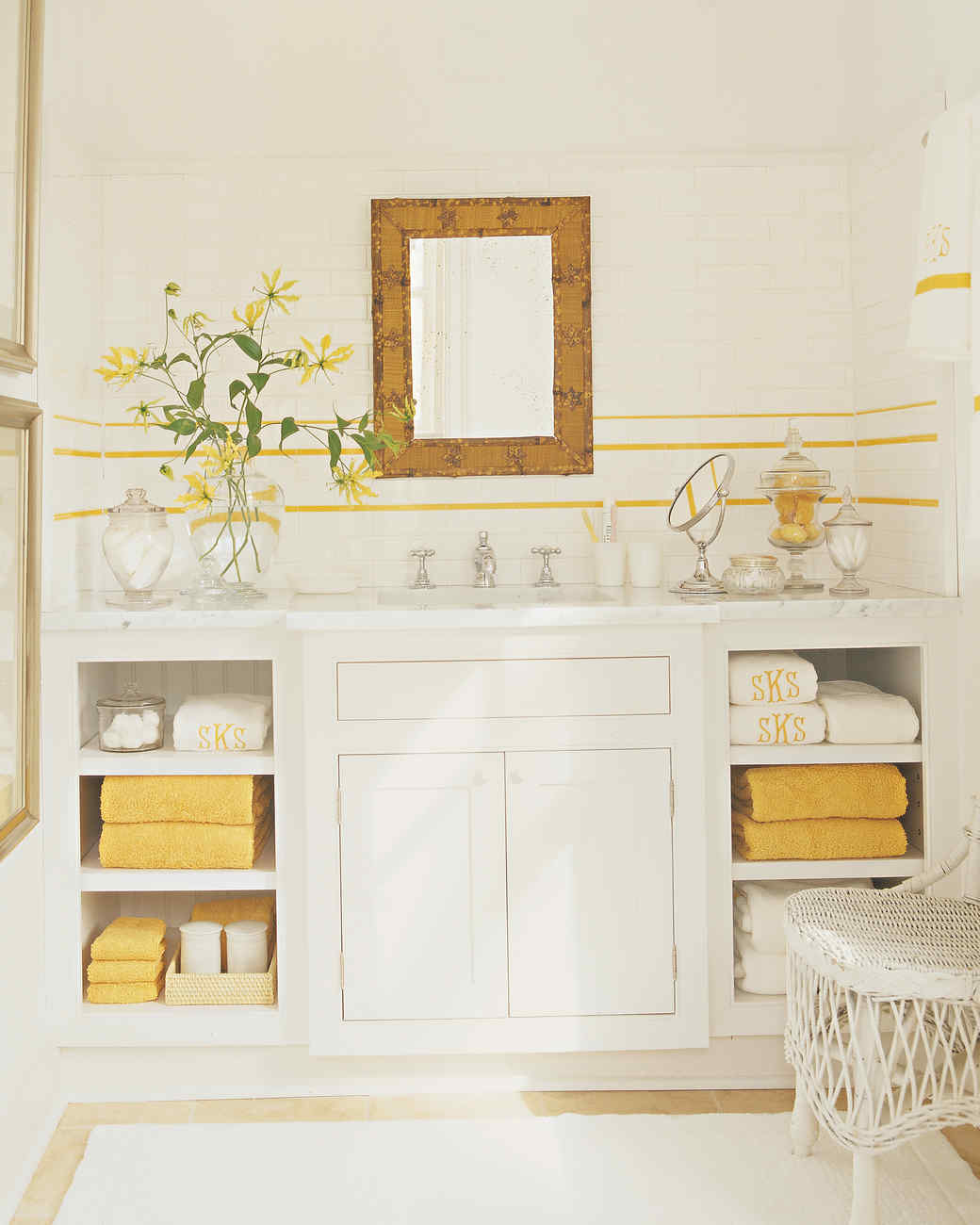 Generous Spa Inspired Small Bathrooms Small Bathroom Rentals Cost Square Painting Bathroom Vanity Pinterest All Glass Bathroom Mirrors Youthful San Diego Best Kitchen And Bath BlueKitchen And Bathroom Edmonton Yellow Rooms | Martha Stewart