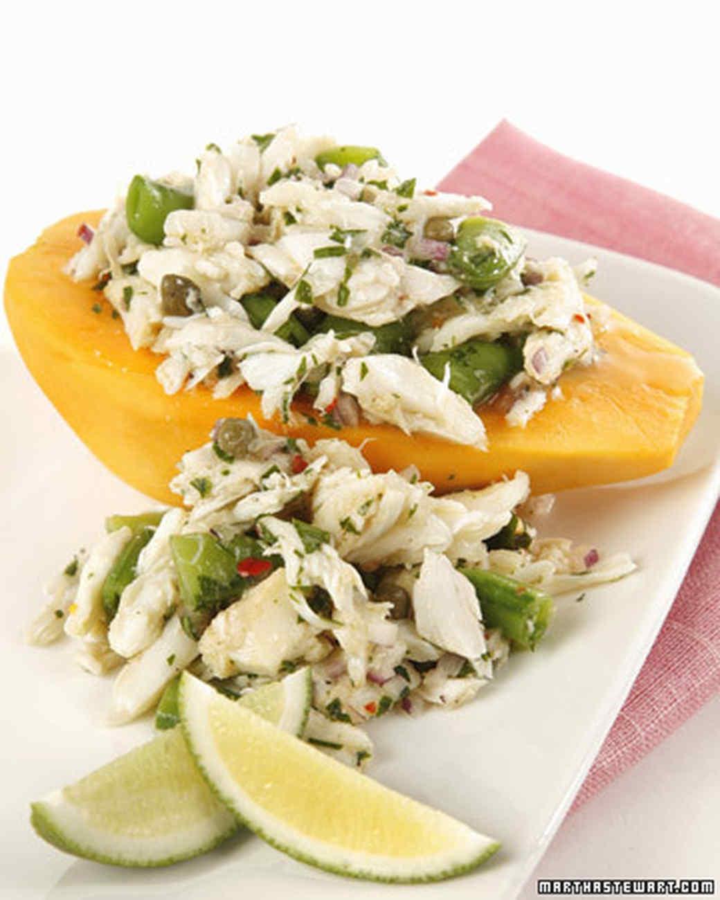 papaya crab salad