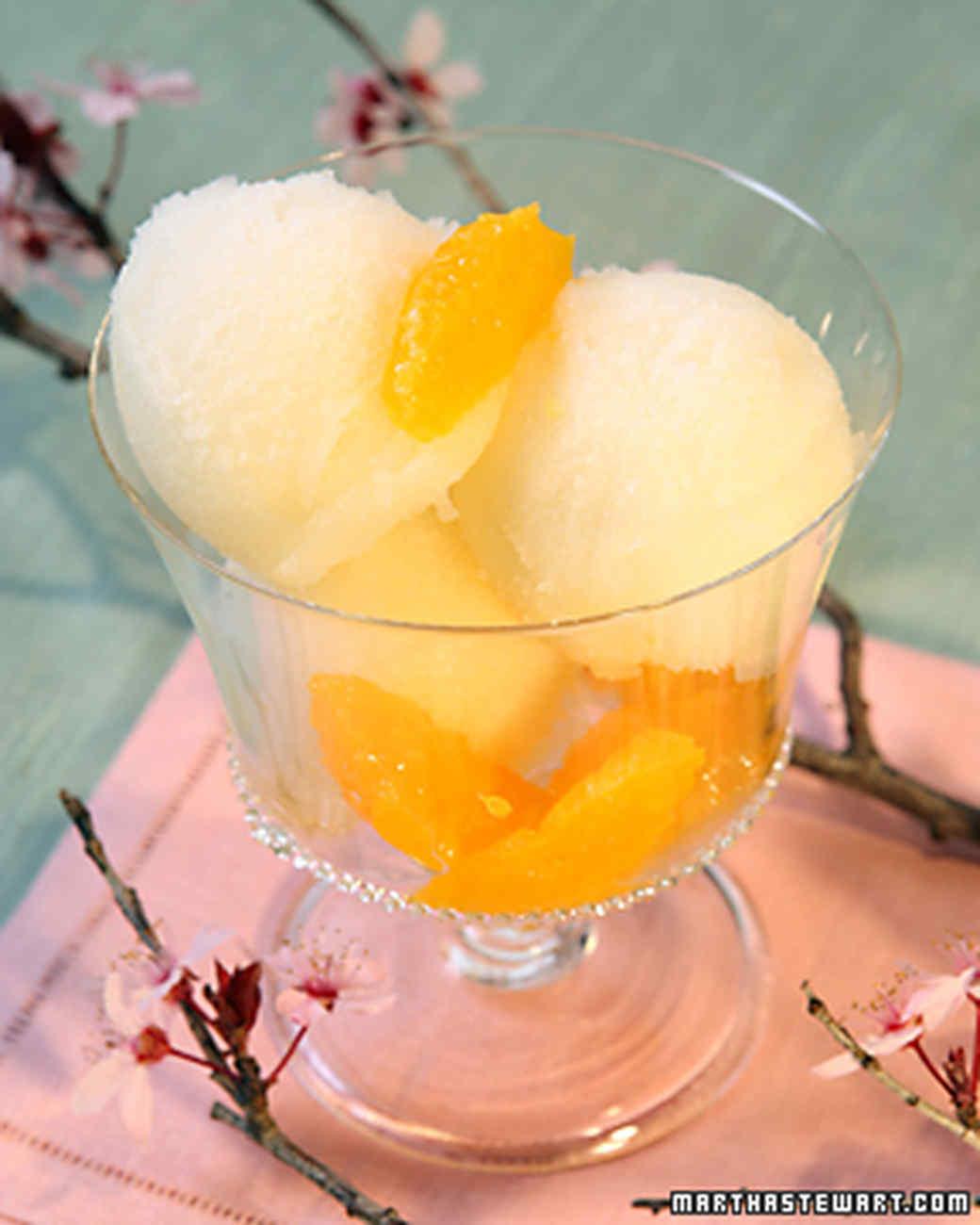 Сорбет из фруктов в домашних условиях рецепт