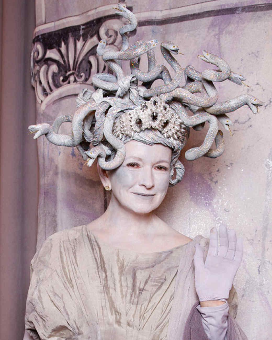 martha stewarts best halloween costumes through the years martha stewart - Medusa Halloween Costume Kids