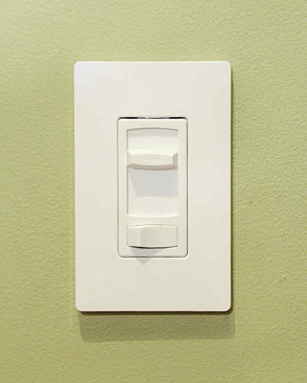 installing a dimmer - Dimmer Light Switch