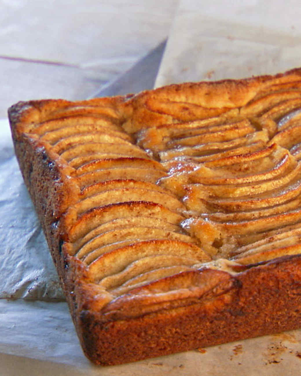 Jewish Apple Cake From A Box Mix With Fresh Apples