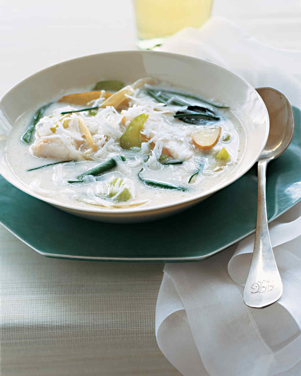 Asian Coconut Fish Chowder