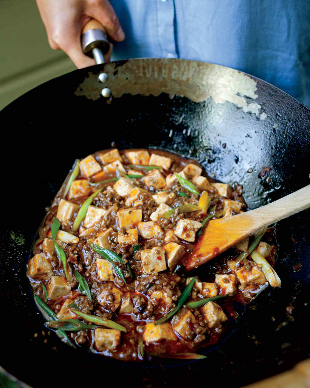 Spicy Tofu with Beef and Szechuan Peppercorns Recipe   Martha Stewart