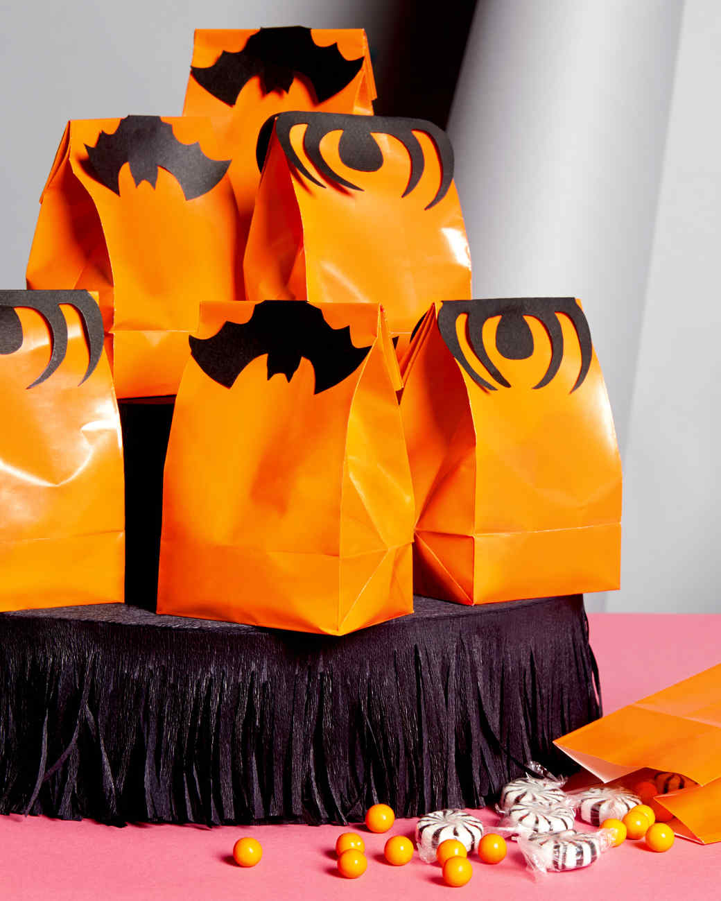 bat treat bag toppers