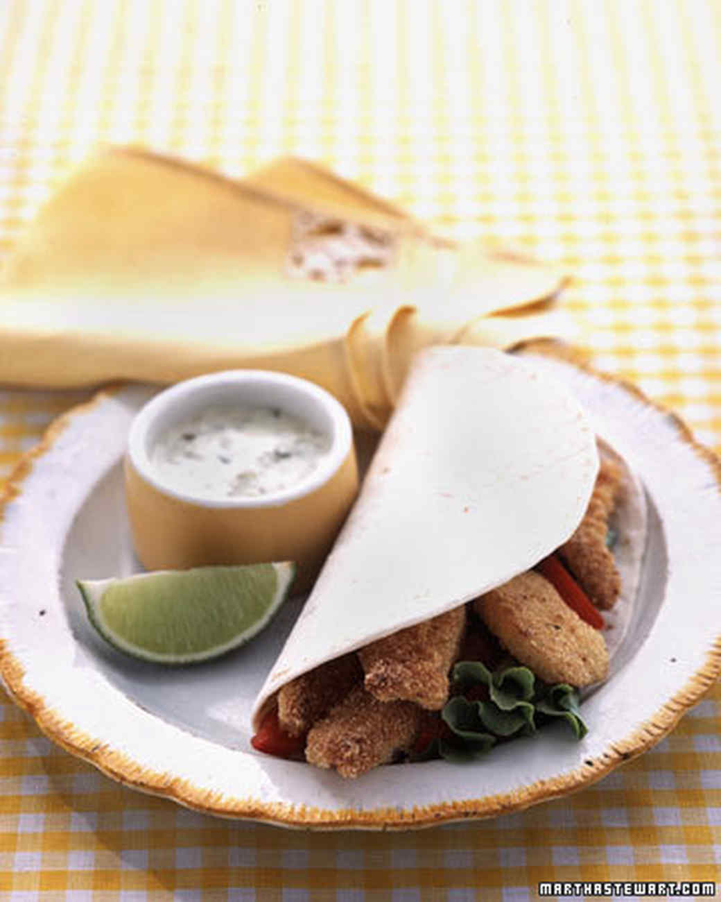 Kid-Friendly Fish Tacos