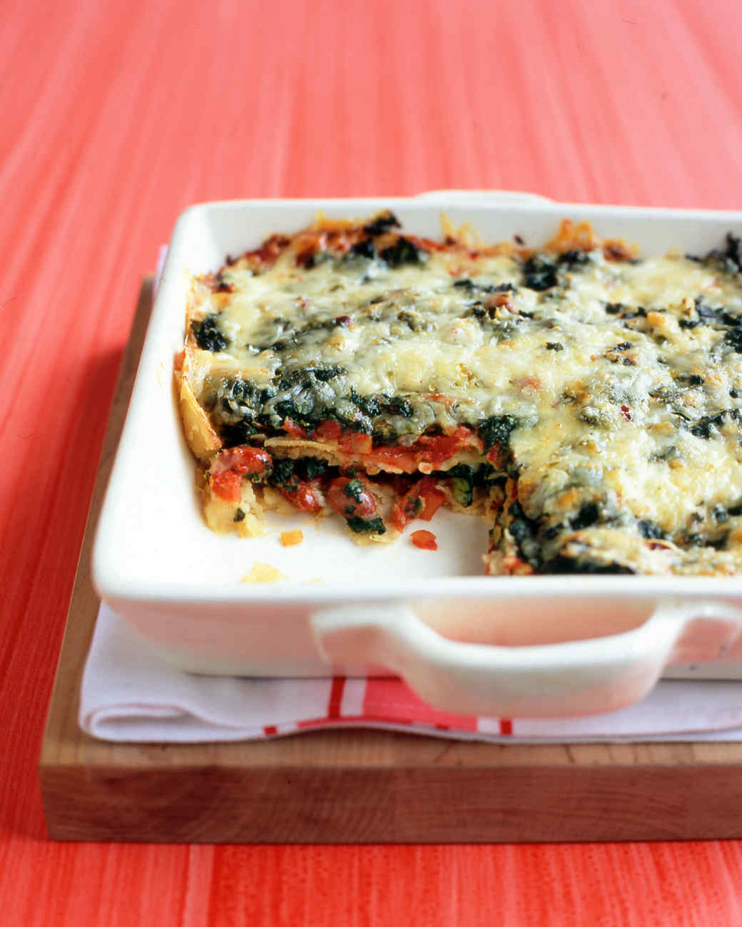 Mexican-Style Lasagna Recipe & Video | Martha Stewart