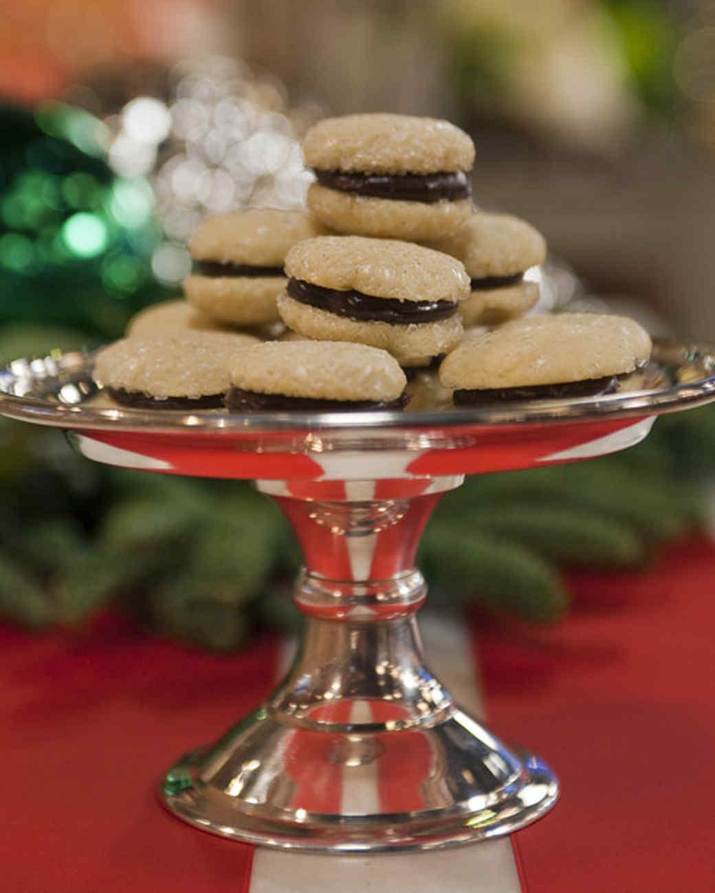 Sparkling Vanilla Sandwich Cookie Recipe & Video | Martha Stewart