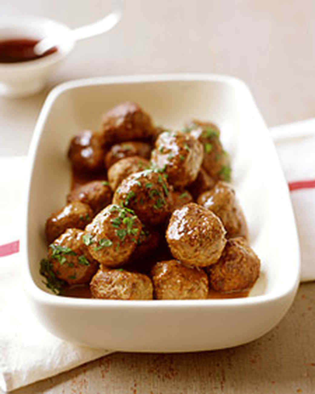 Smorgasbord Swedish Meatballs