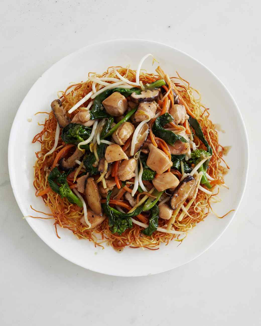 chow mein dish