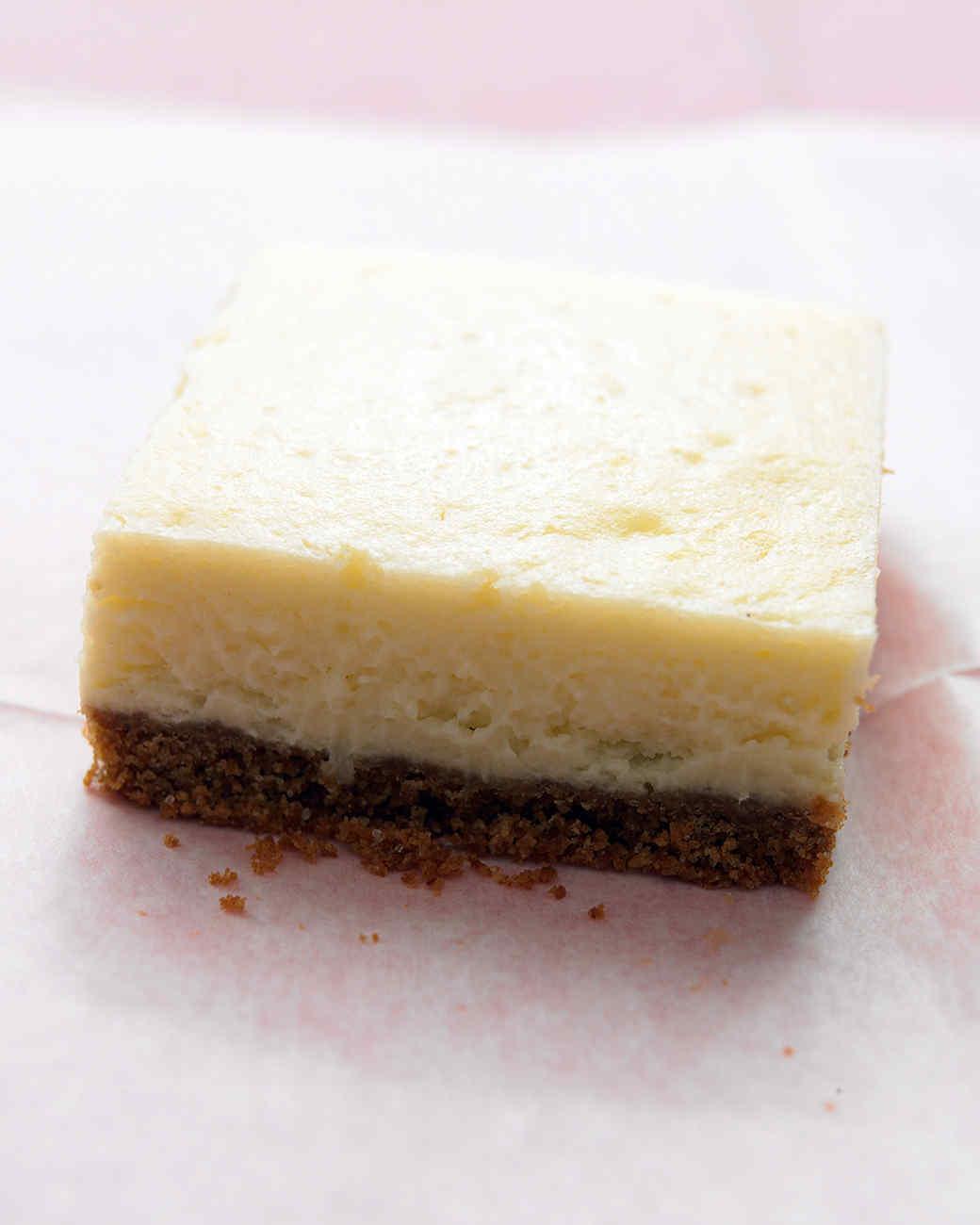 Lemon Cheesecake Squares