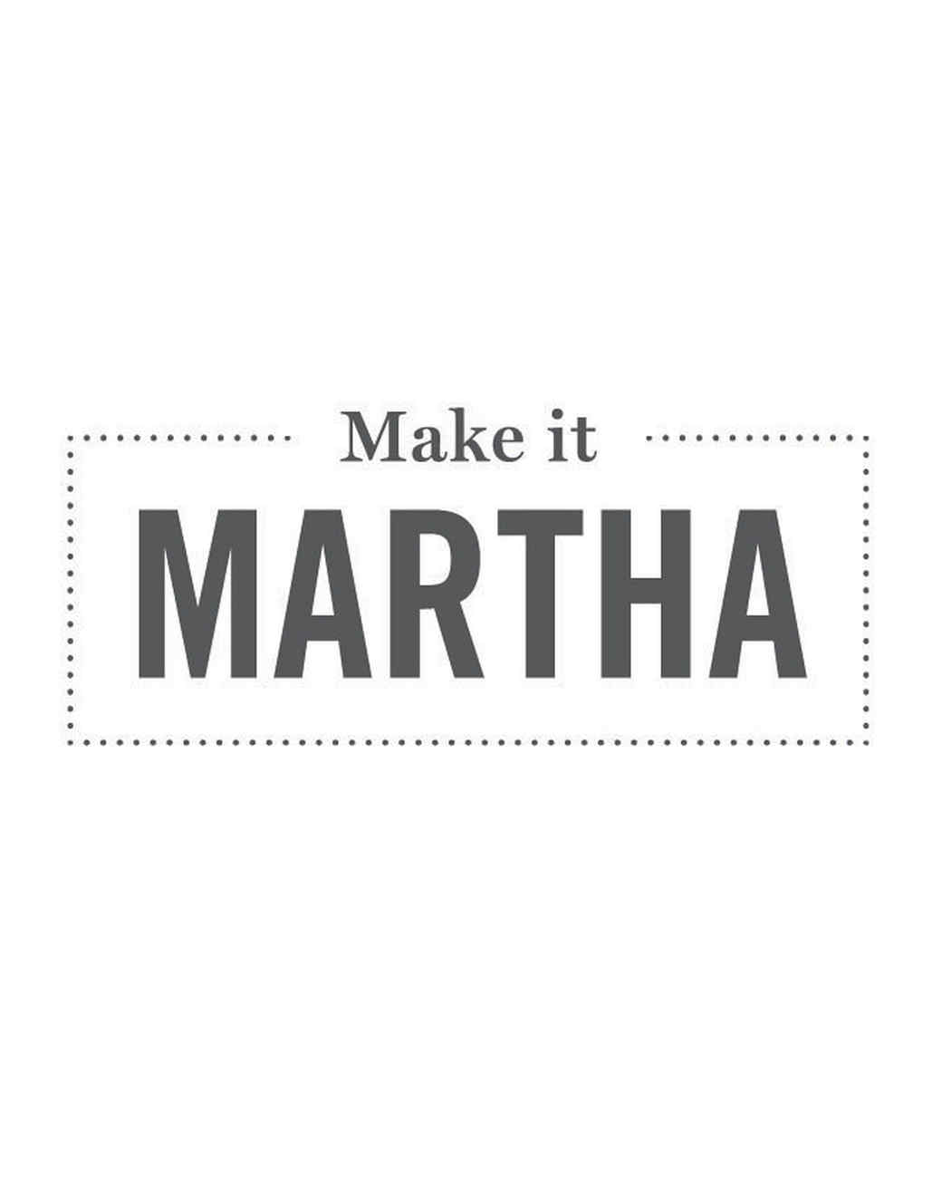 make it martha logo
