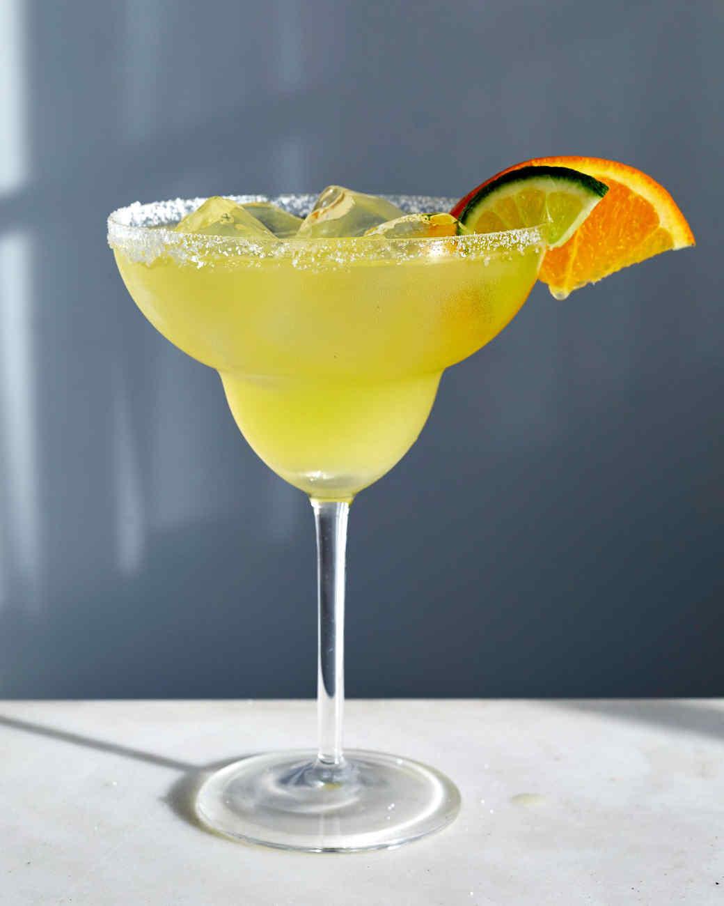 margarita lime orange