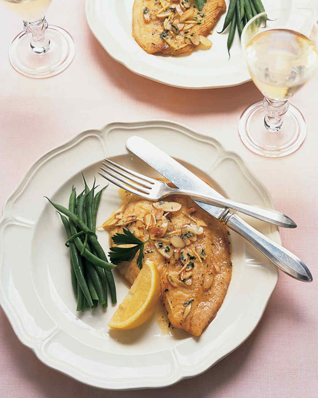Sauteed sole with lemon recipe martha stewart for Sole fish recipes