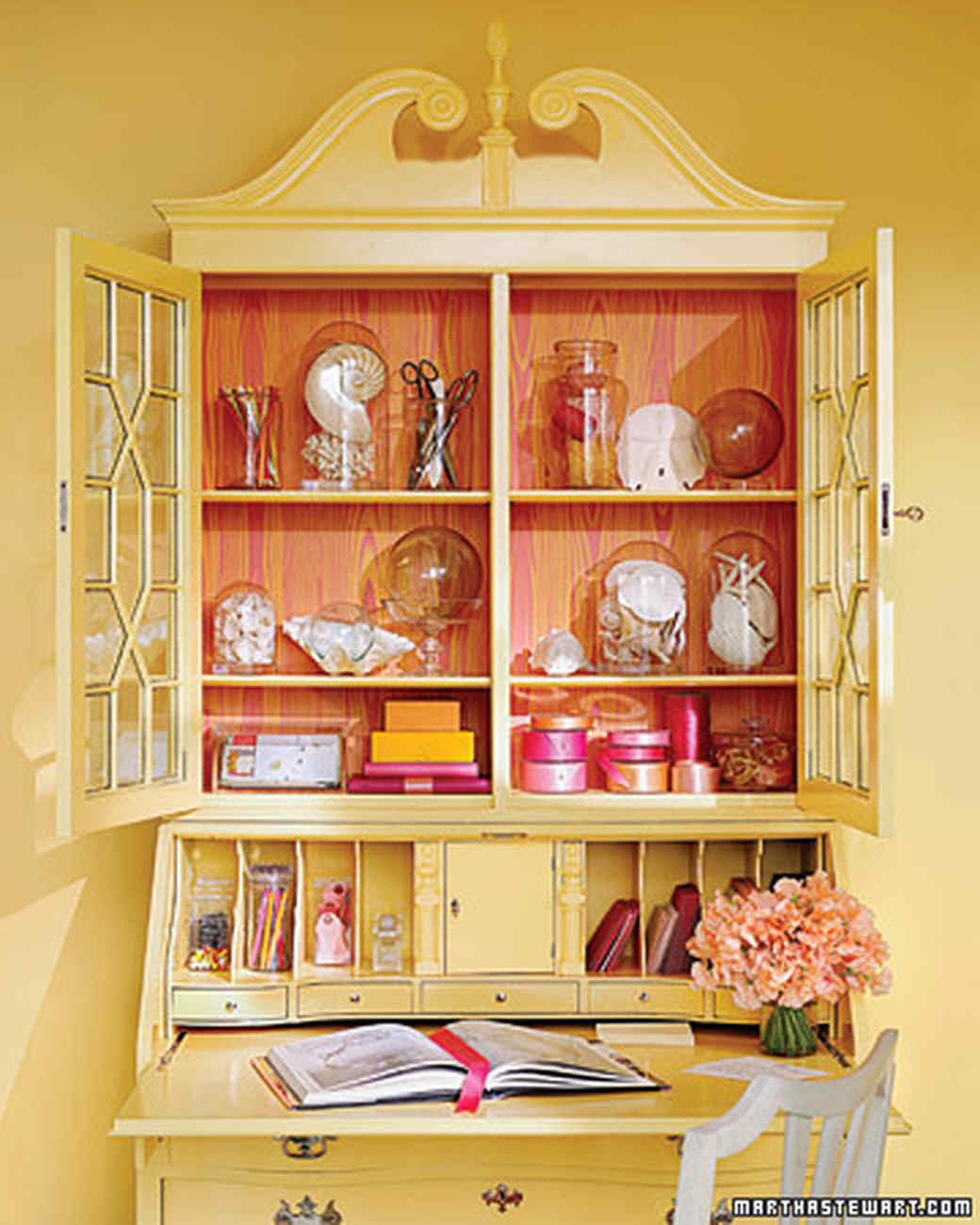 20 Ways To Decorate With Orange And Yellow: Decorating With Yellow And Orange