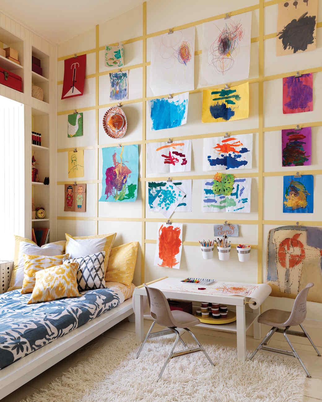 Organized Kids Spaces Martha Stewart