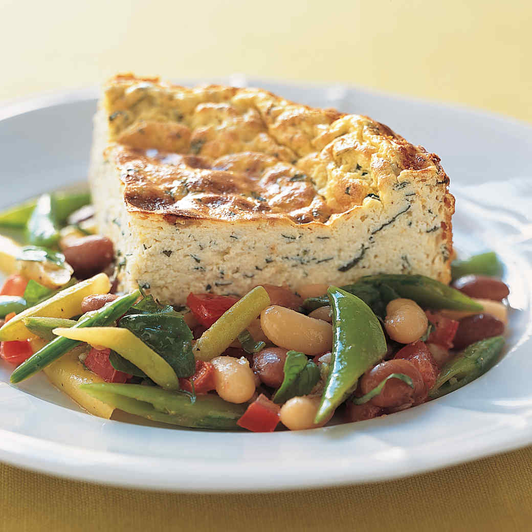 Warm Bean, Snap Pea, and Tomato Salad