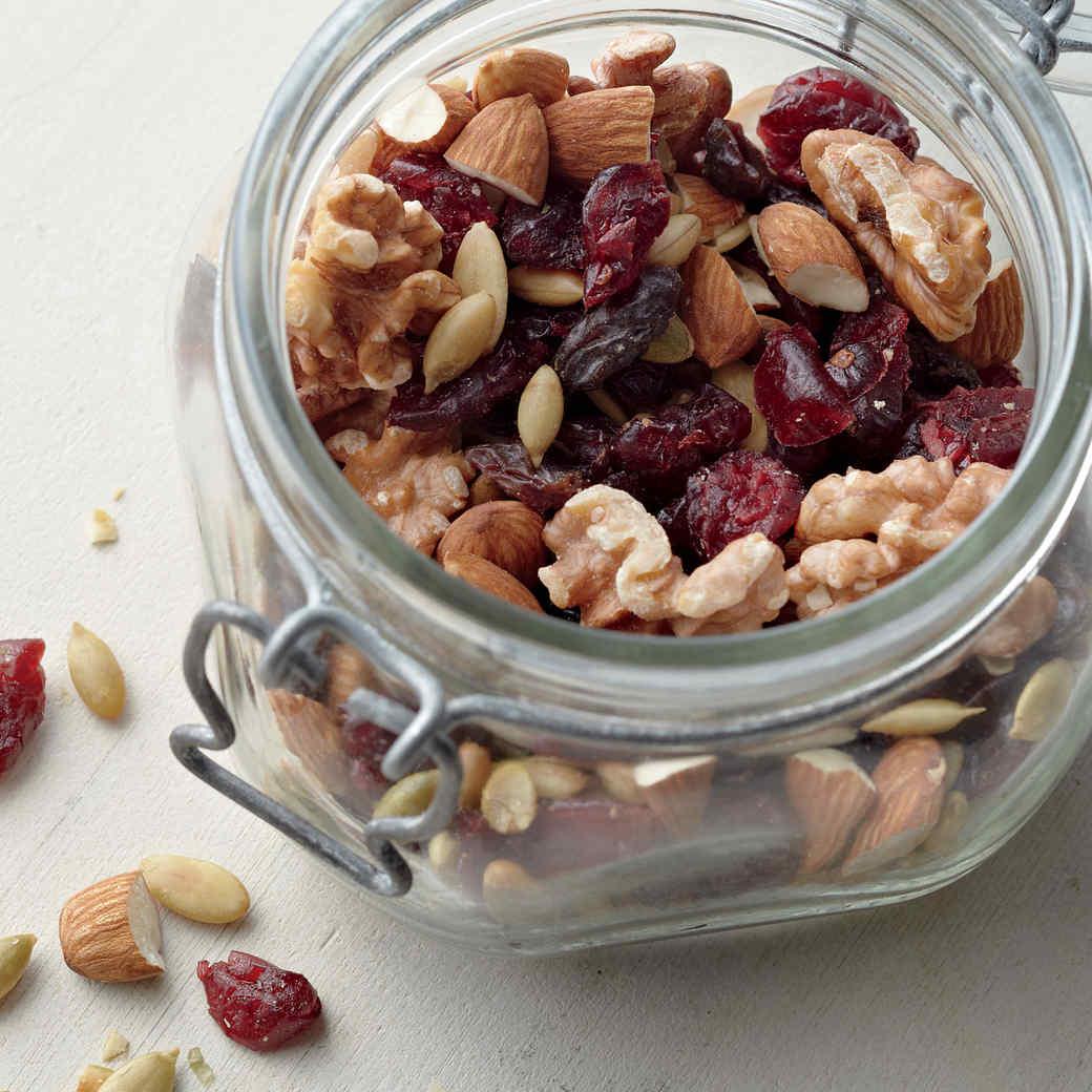 Quick Cranberry-Pumpkin Seed Trail Mix