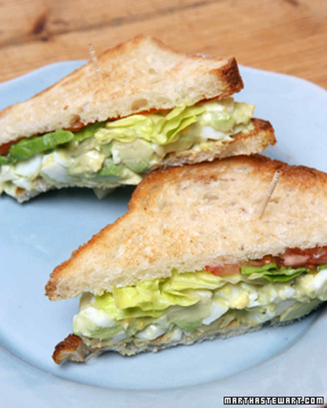 Martha's Favorite Egg Salad Sandwich Recipe & Video ...