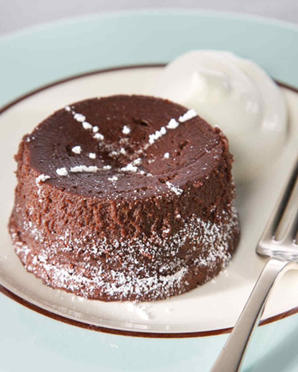 Martha Stewart Molten Bittersweet Chocolate Cake