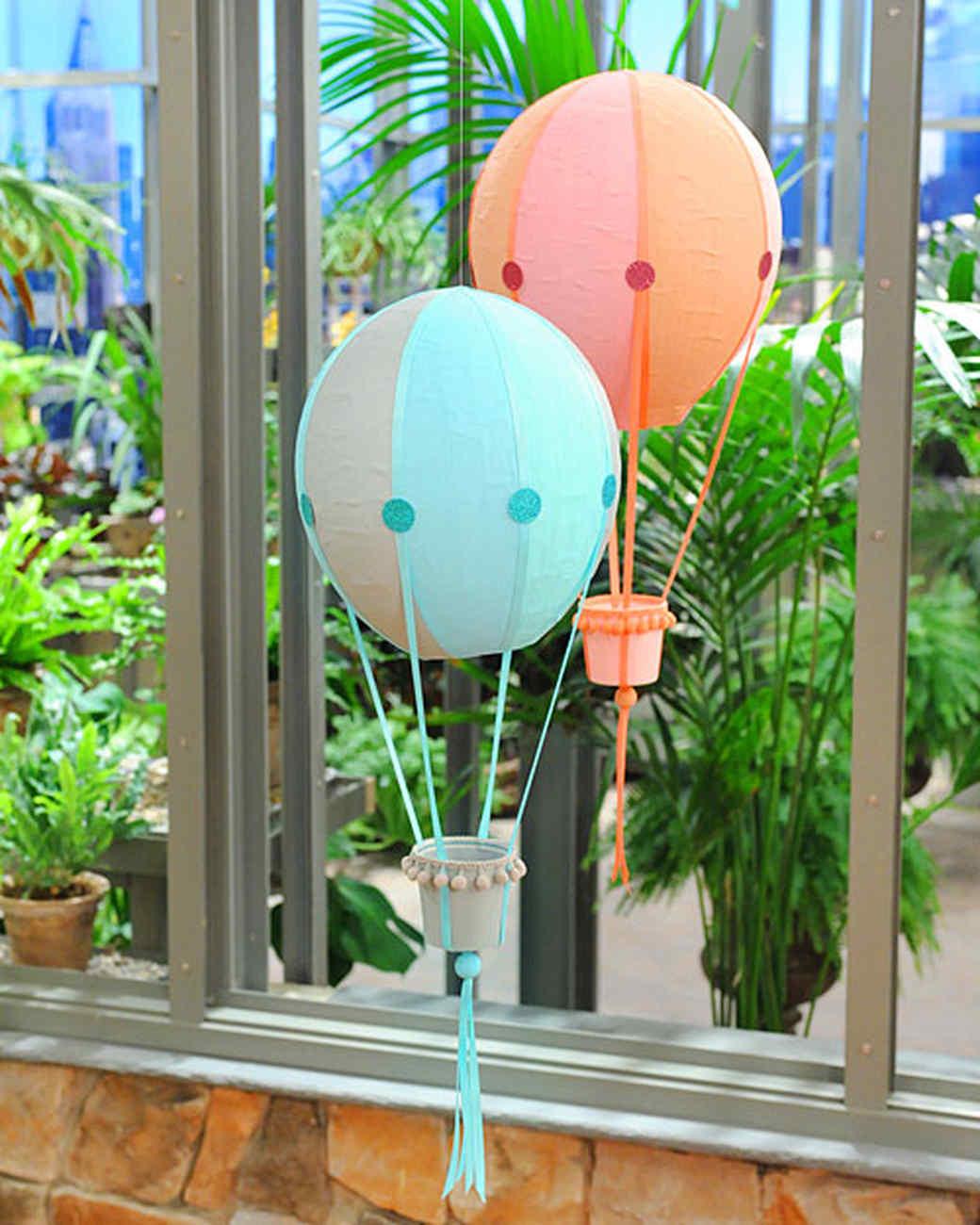 Как сделать воздушный шар своими руками в  65