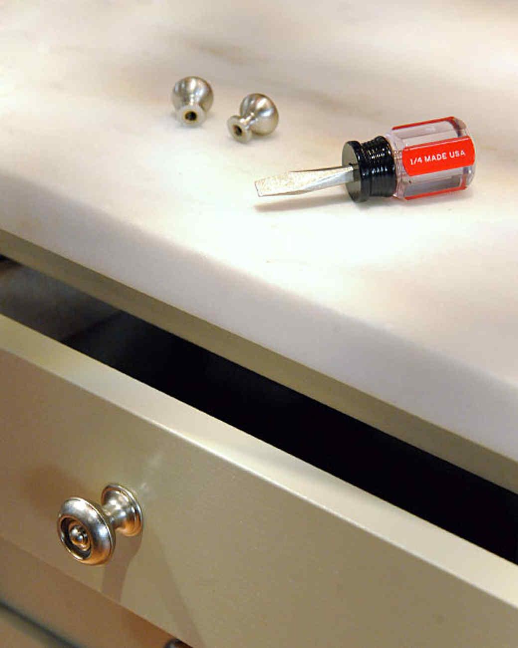Updating Cabinet Hardware Amp Video Martha Stewart