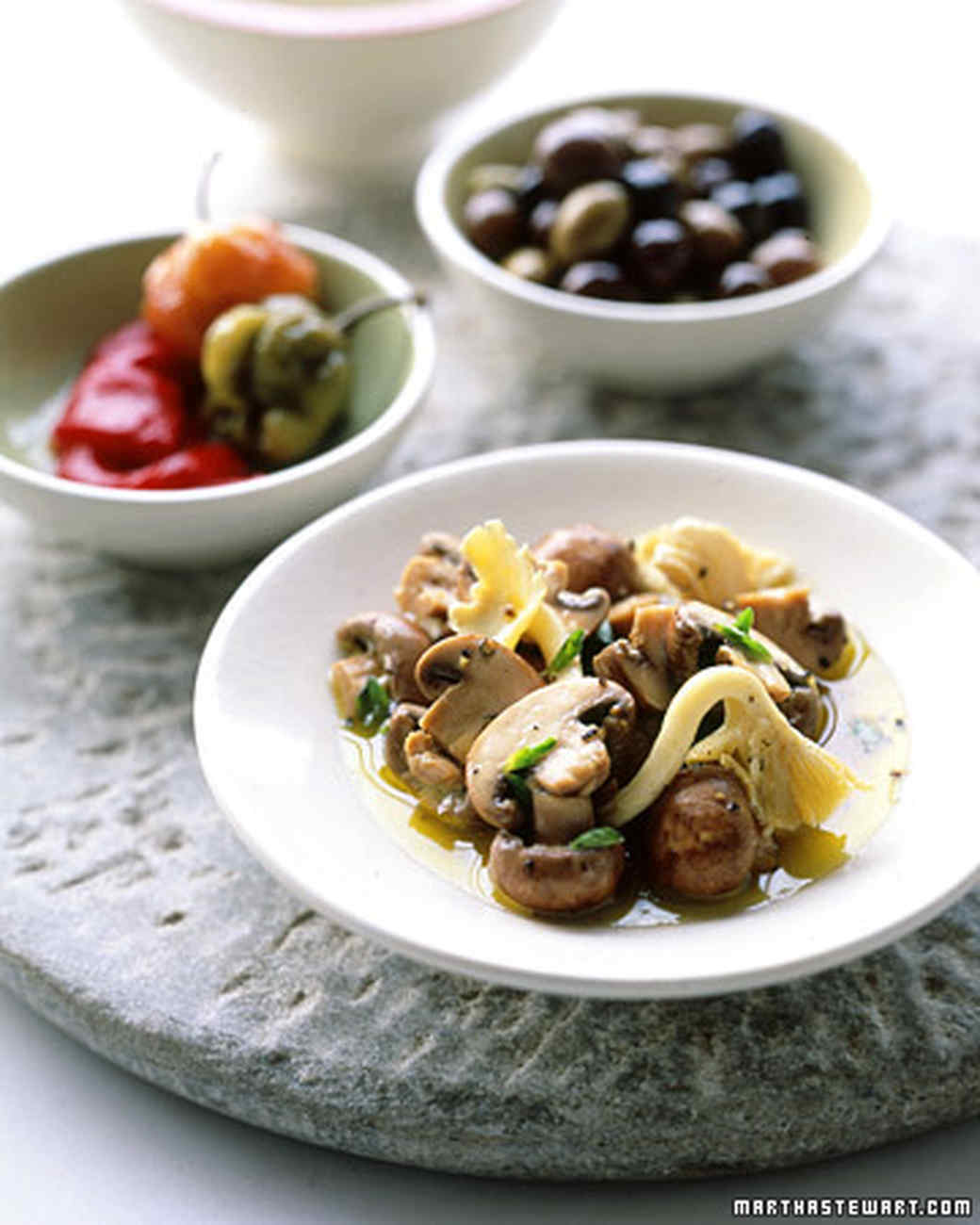 Marinated Mushrooms Recipe | Martha Stewart