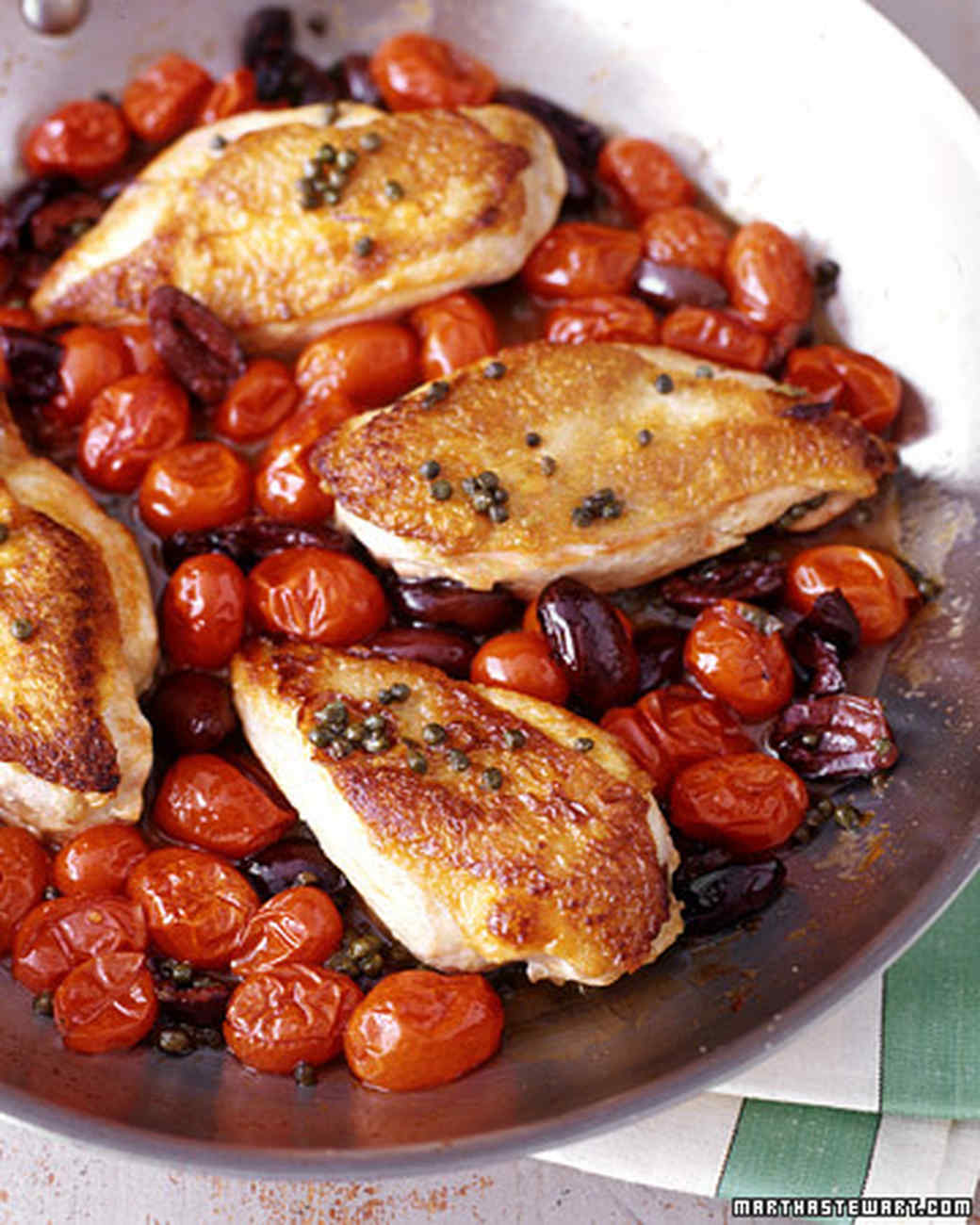 Mediterannean Olive Chicken Recipe — Dishmaps