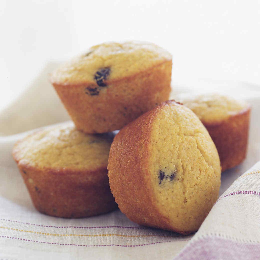 Cornmeal Raisin Muffins