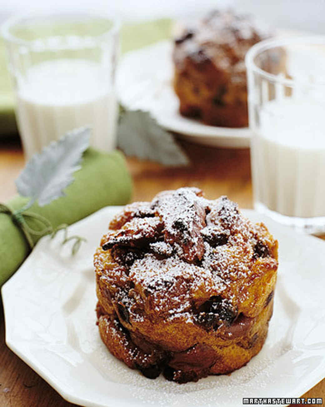 Pumpkin Bread Pudding Recipe | Martha Stewart