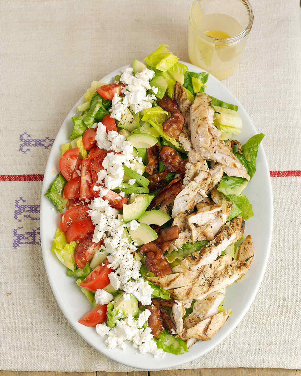 Grilled Chicken Cobb Salad Recipe | Martha Stewart