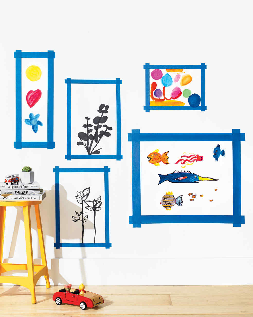 Kids' Wall-Art Crafts: Masterpieces on Display