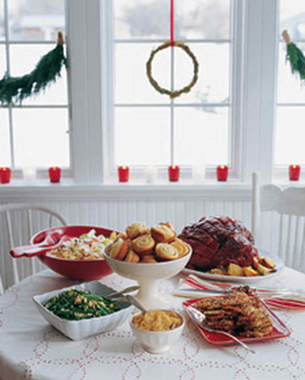 Living Room Xmas Menu holiday parties and menus | martha stewart