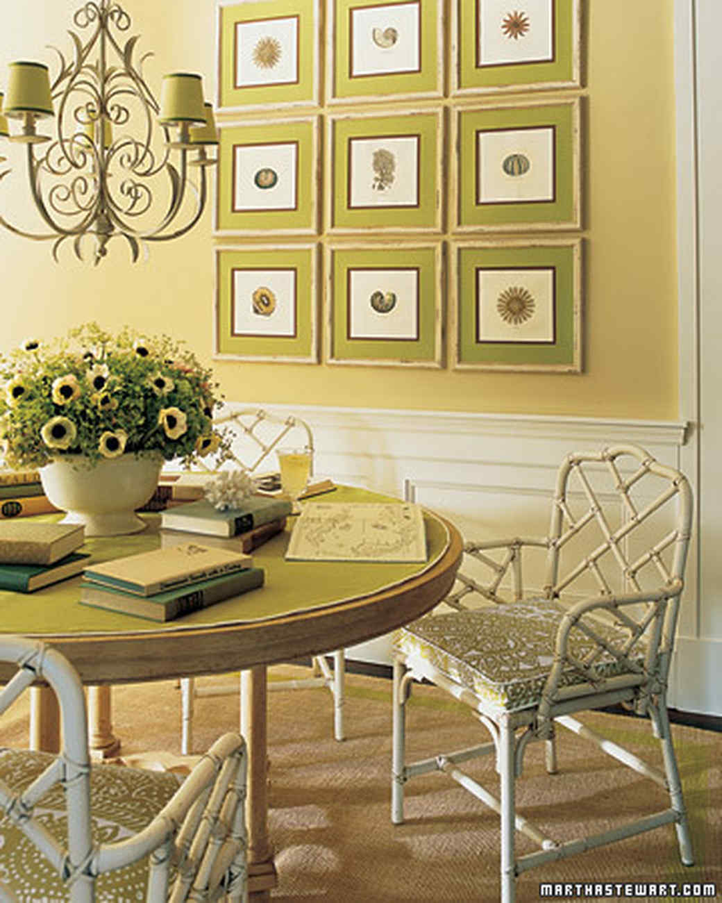 Green Room Decorating Ideas green rooms | martha stewart