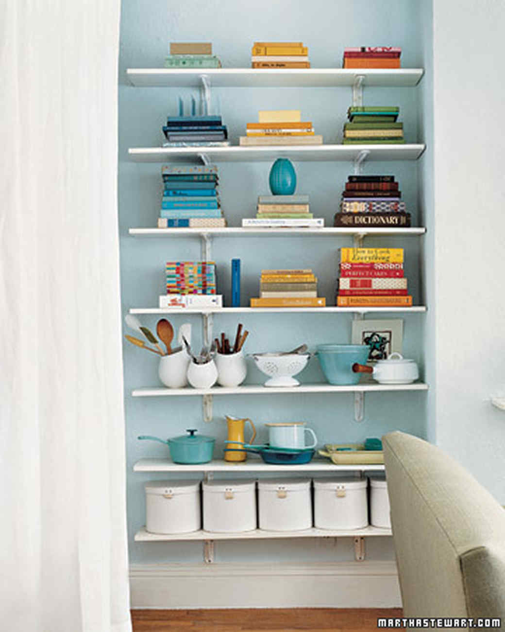 Real Page Turners Our Favorite Bookshelf Organizing Ideas Martha Stewart