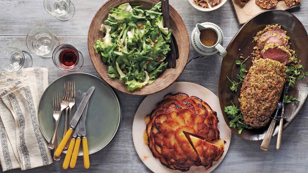 Make-Ahead Dinner Party: A Cozy Winter Menu for 6
