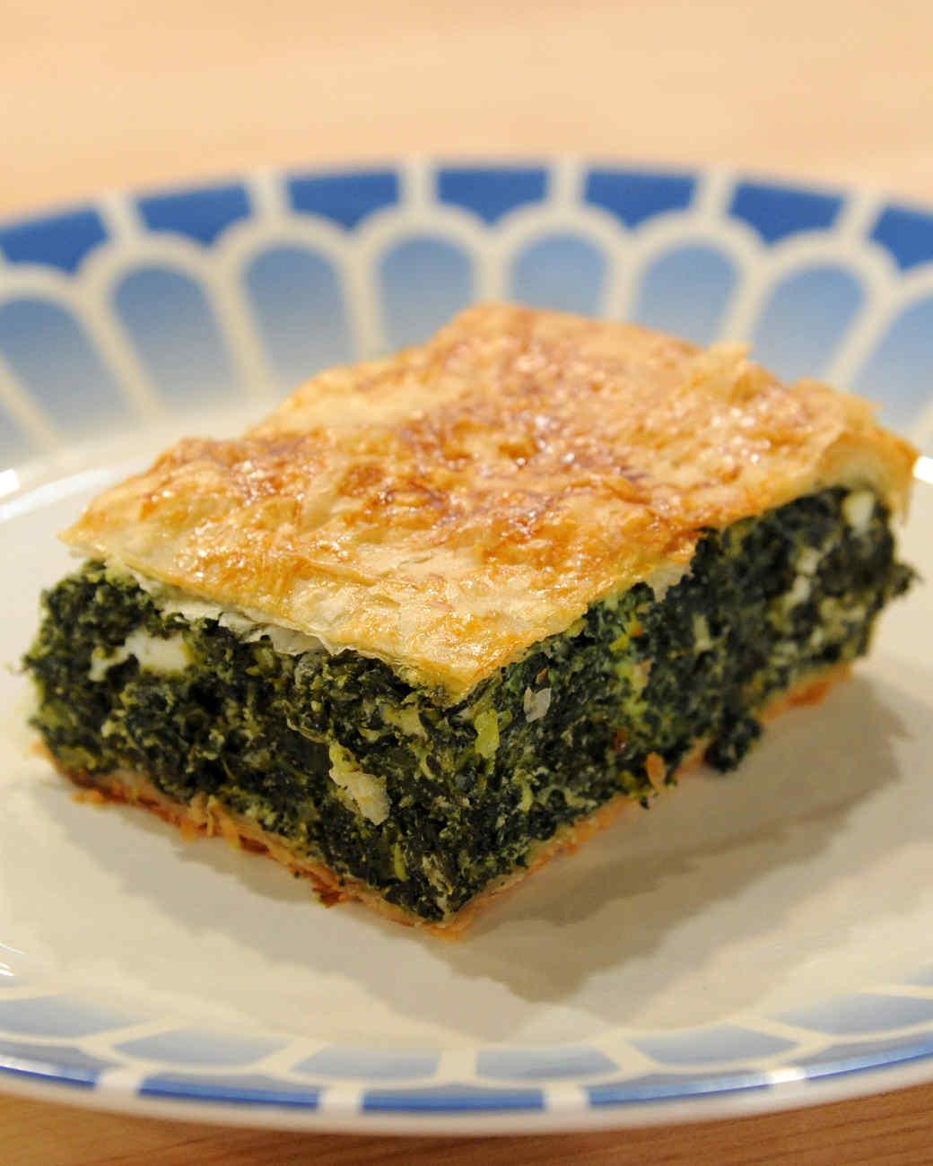 Elli's Spanakopita Recipe | Martha Stewart