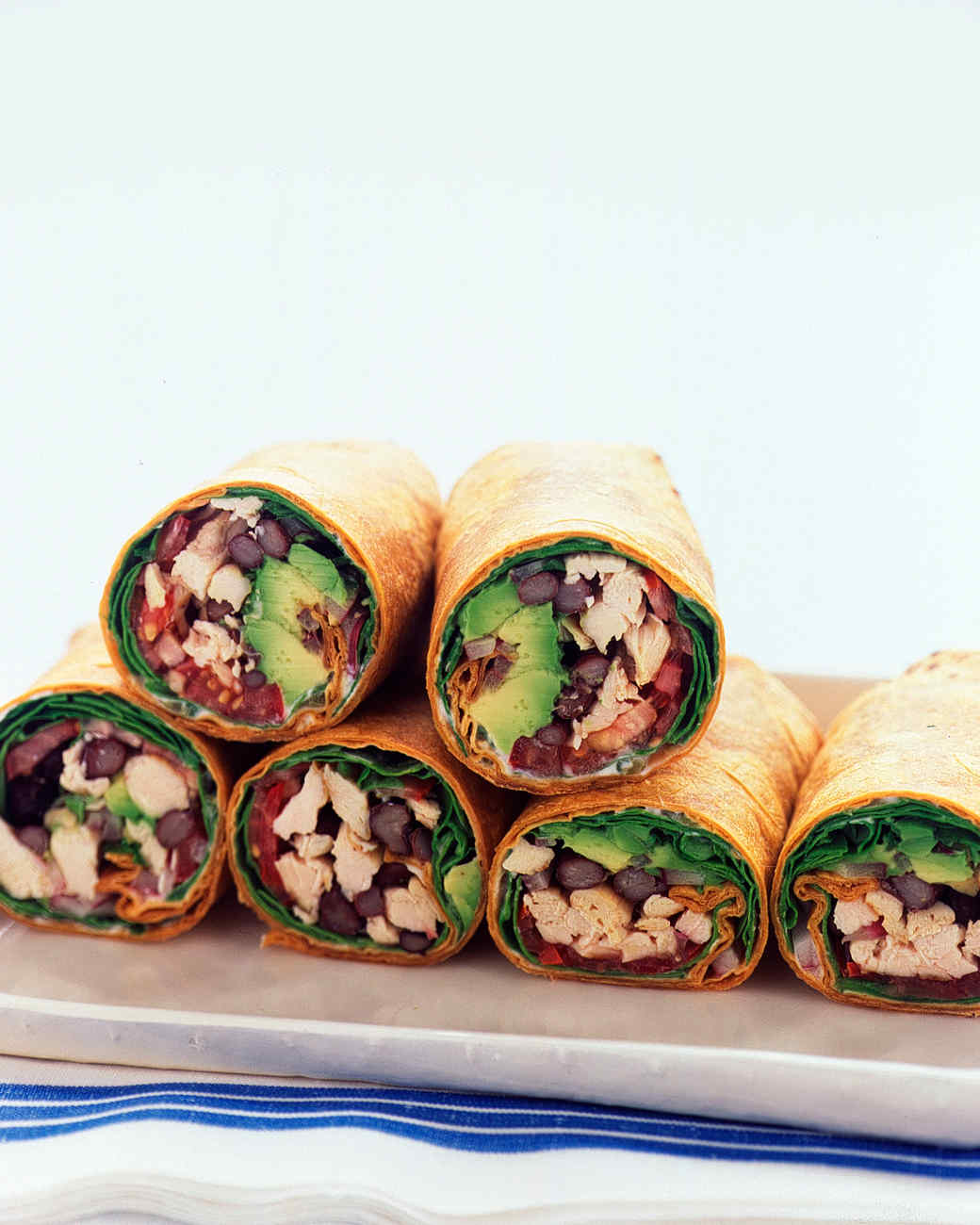 Wrap Sandwich And Burrito Recipes Martha Stewart