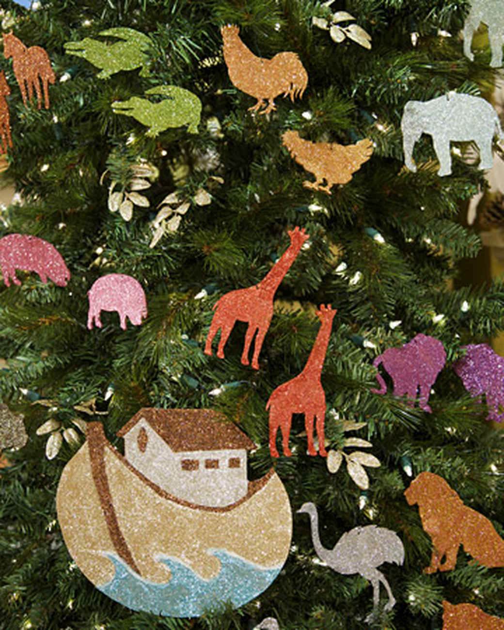 Christmas tree picture frame ornaments - Noah S Ark Ornaments
