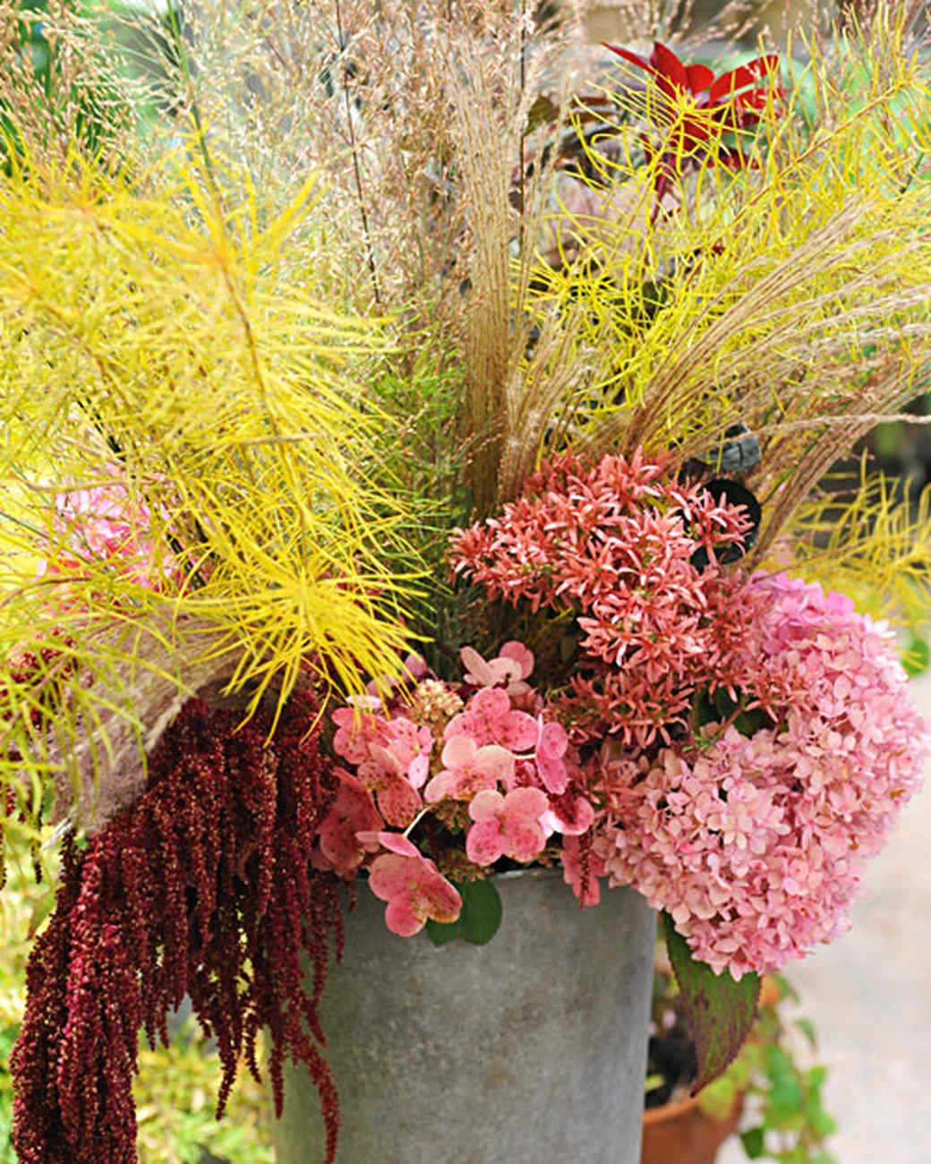 Fall Foliage Arrangement Video Martha Stewart